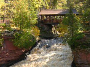 Amnicon Falls near Superior, Wisconsin