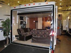 4 wheeler trailer and motor home