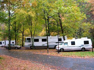 Hot springs naitonal park campground