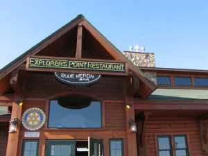 explorer's point restaurant, Ashland, Wisconsin