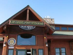 explorer's point restaurant, Ashland, Wisconsin
