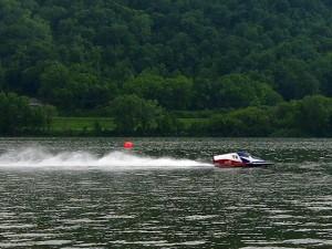 Sean McKean Hydroplane Racer