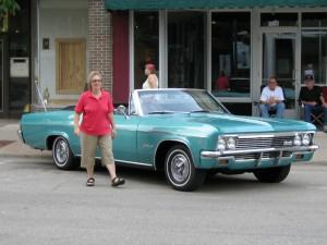 1966 Chevie Impala Convertible