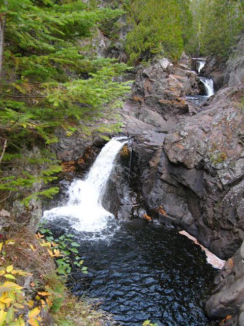 cascade river waterfalls