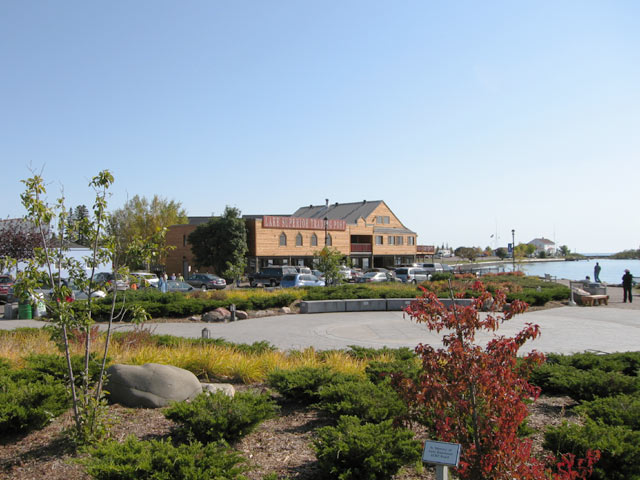 Picture of Grand Marais Harbor Park in the fall
