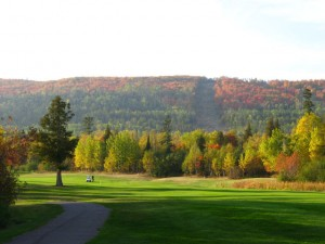 Fall picture of Superior National Golf Course