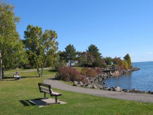 Marina Park walking path, Thunder Bay