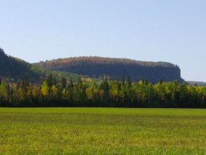 Fall Color picture near Thunder Bay Ontario