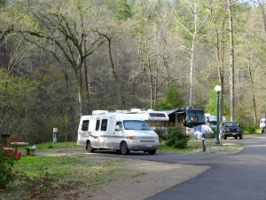 hot springs campground