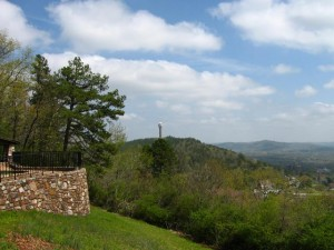West Mountain, Hot Springs Tower