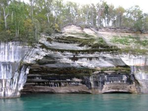 Pictured Rocks, Munising, Michigan
