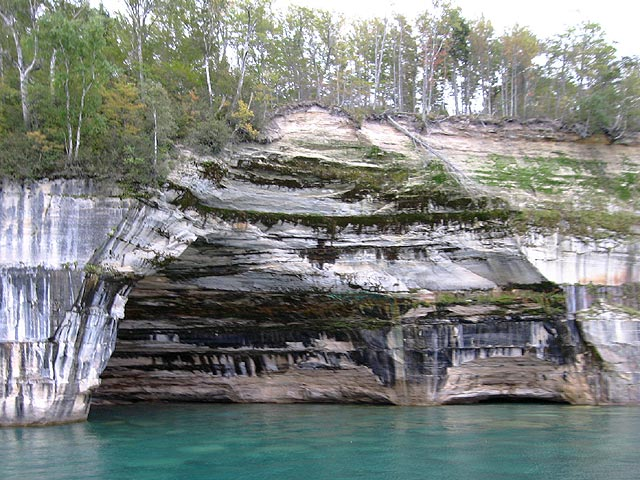Pictured Rocks, Munising, Michigan
