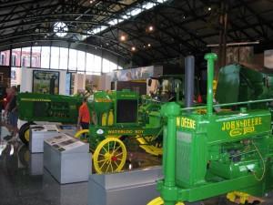 John Deere Pavilion exhibits