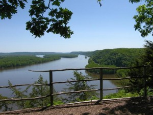 Firepoint Overlook, Effigy Mounds National Park