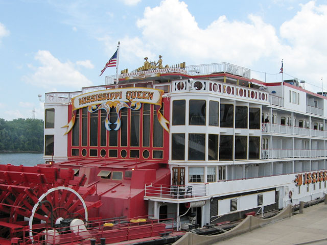 Mississippi River Steamboats Scenic Pathways