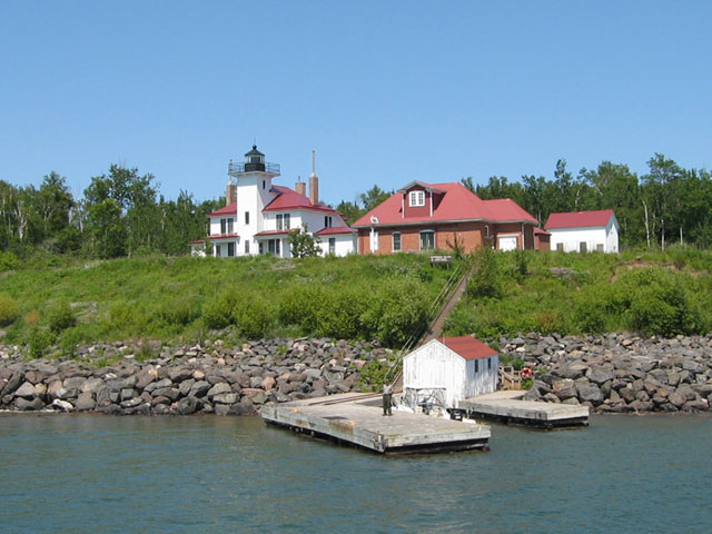 Raspberry Island Lighthouse Apostle Islands