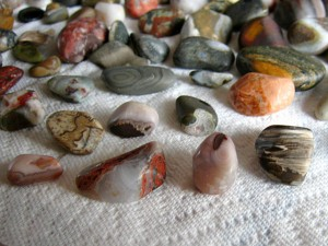 Agates and Rocks from Lake Superior