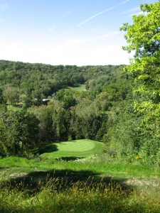 #17 hole at Highlands Golf Course, Red Wing, MN