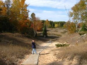 Whitefish Dunes State Park Hiking Trail