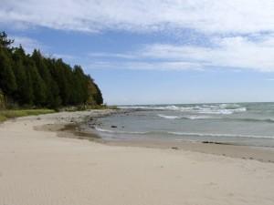 Whitefish Dunes State Park Beach