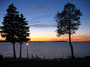 Sturgeon Bay sunset
