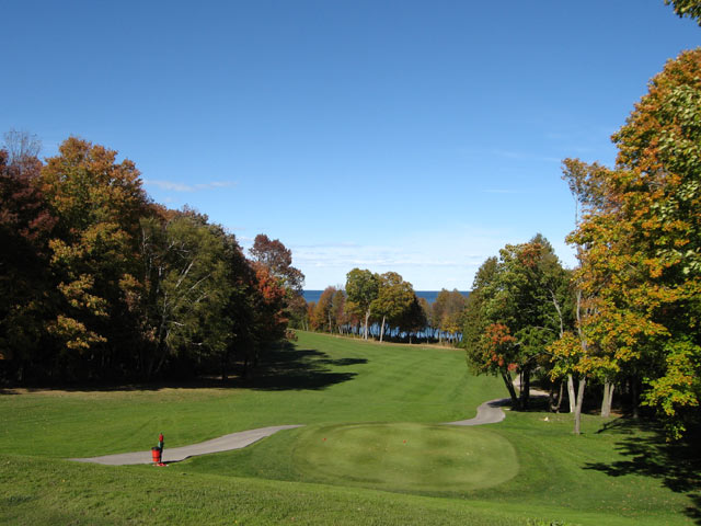 Elegant Peninsula State Park Golf Course, Door County Wisconsin