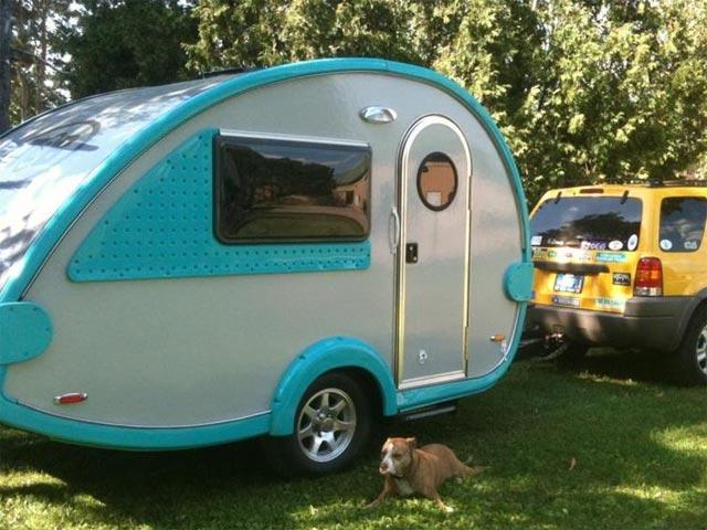 The Tb Or Tab Pod Camper Trailer