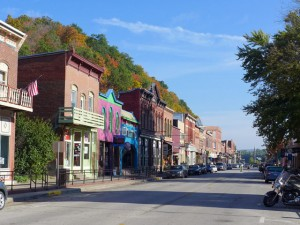 McGregor Iowa mainstreet