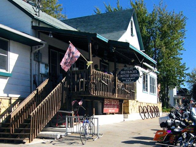 Breitback Tavern Balltown Iowa
