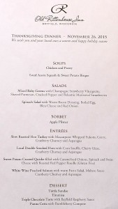 Rittenhouse Inn Dining