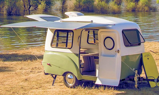 The HCI Happier Camper Marries Modern Engineering With A Retro Look