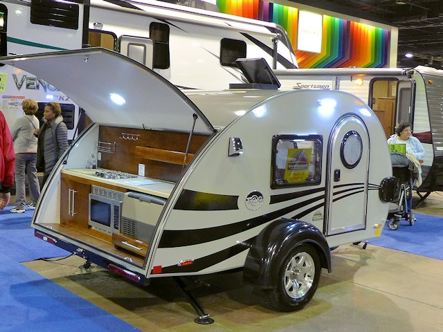 Pod Or Teardrop Trailers Like This Tab Are Offering Stylish And Compact Camping Alternatives To Tents