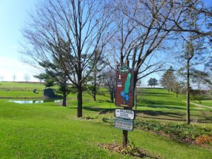 The 18 hole Dodge-Point Golf Course is one of the nicer tracks in Cheese Country
