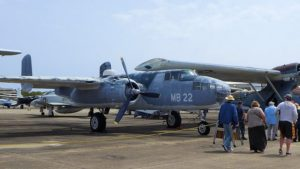 The Mitchell B-25 fighter-bomber was my favorite WWII aircraft when I was a kid.