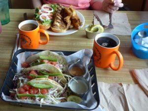 Native Cafe Fish Sandwiches