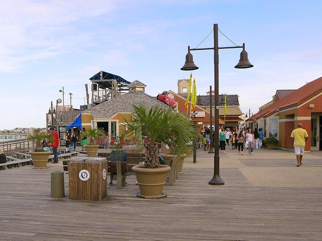Along The Portofino Boardwalk On Santa Rosa Sound Side Of Island