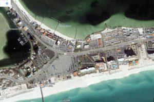 pensacola beach map