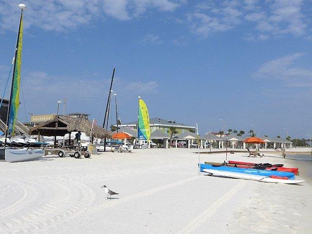 Pensacola Beach on Santa Rosa Sound