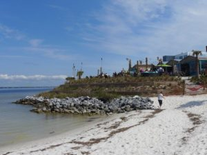 The Patio of Red Fish Blue Fish Restaurant in Pensacola Beach is where everyone wants to be.