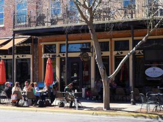 Carmen's Lunch Box Cafe Sidewalk Dining Pensacola Florida