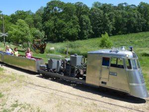 toy train barn train ride