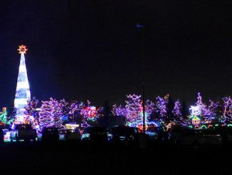 bentleyville christmas lights show