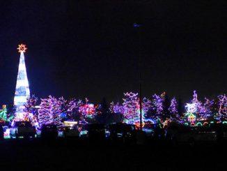 bentleyville christmas lights show