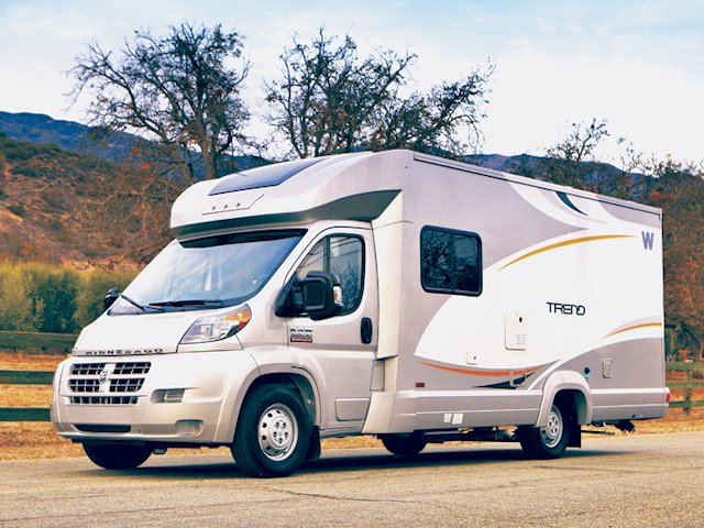 Winnebago Trend At 24 4 Long The Is Close To Being Too For Ease Of Parking And Fitting Into Compact Campsites 23L Floorplan Most
