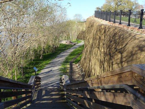 Bluff Trail Stairway