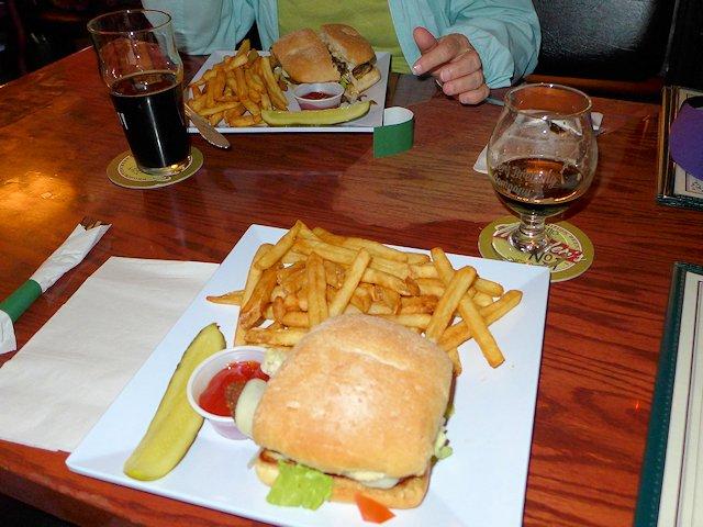 Burgers at the Ohio Club