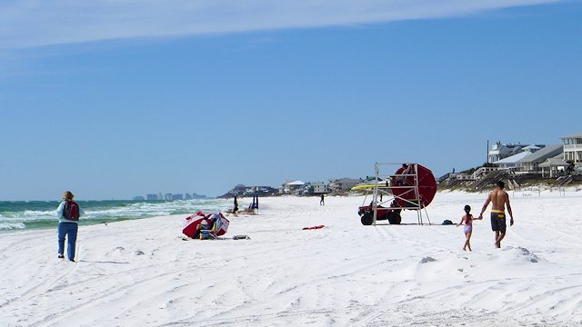 Gulf Beach at Grayton Beach