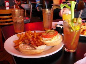 Red Bar Mahi-Mahi sandwich basket