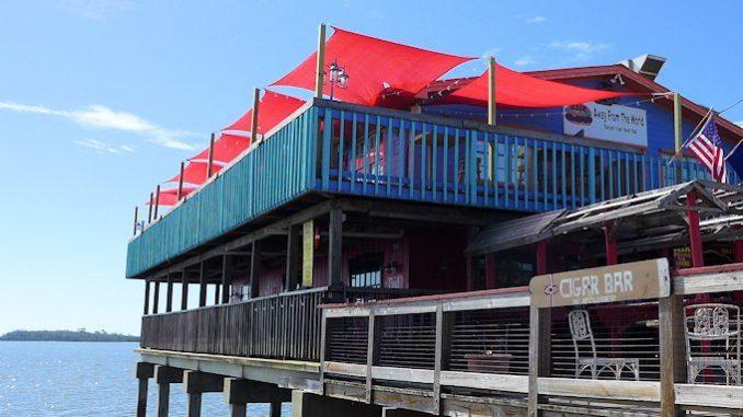 Away from the World Bar Cedar Key Florida