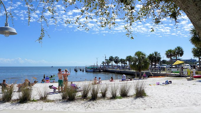 Cedar Key Florida Beach